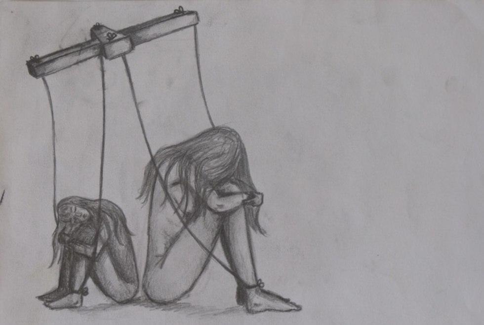 צעירות נפגעות תקיפה מינית ()