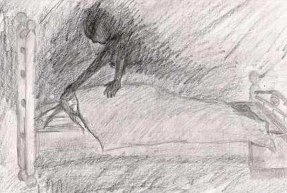 הציורים אותן ציירו נפגעות התקיפה המינית ()