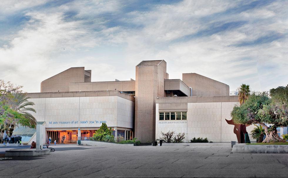 מוזיאון ת''א (האגף הישן), שדן איתן תכנן עם יצחק ישר, זיכה אותם בפרס רכטר. קראו בכתבה כיצד מתאר אותו דן איתן (צילום: גיל בר)