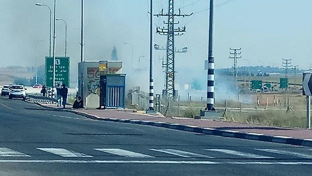 שריפה ליד תחנת רכבת  ()