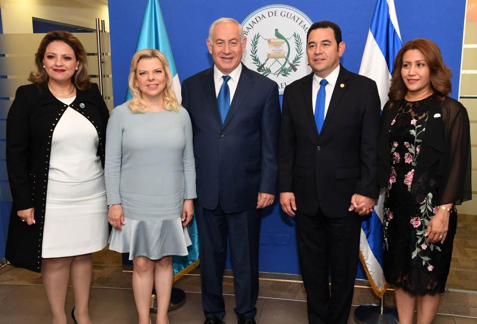 На церемонии открытия посольства Гватемалы. Фото: ЛААМ