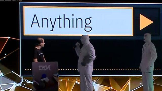 קטע מהדגמת הכלי החדש (צילום: IBM)