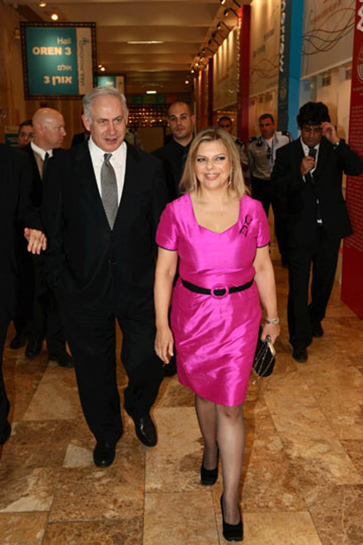Биньямин и Сара Нетаниягу, 2011 год. Фото: ЛААМ