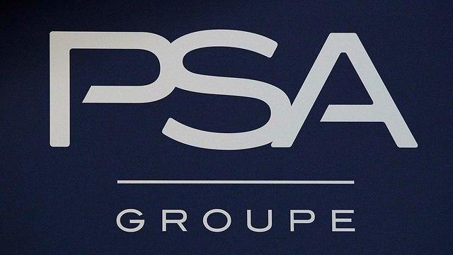 לוגו פיג'ו PSA  (צילום: AP)