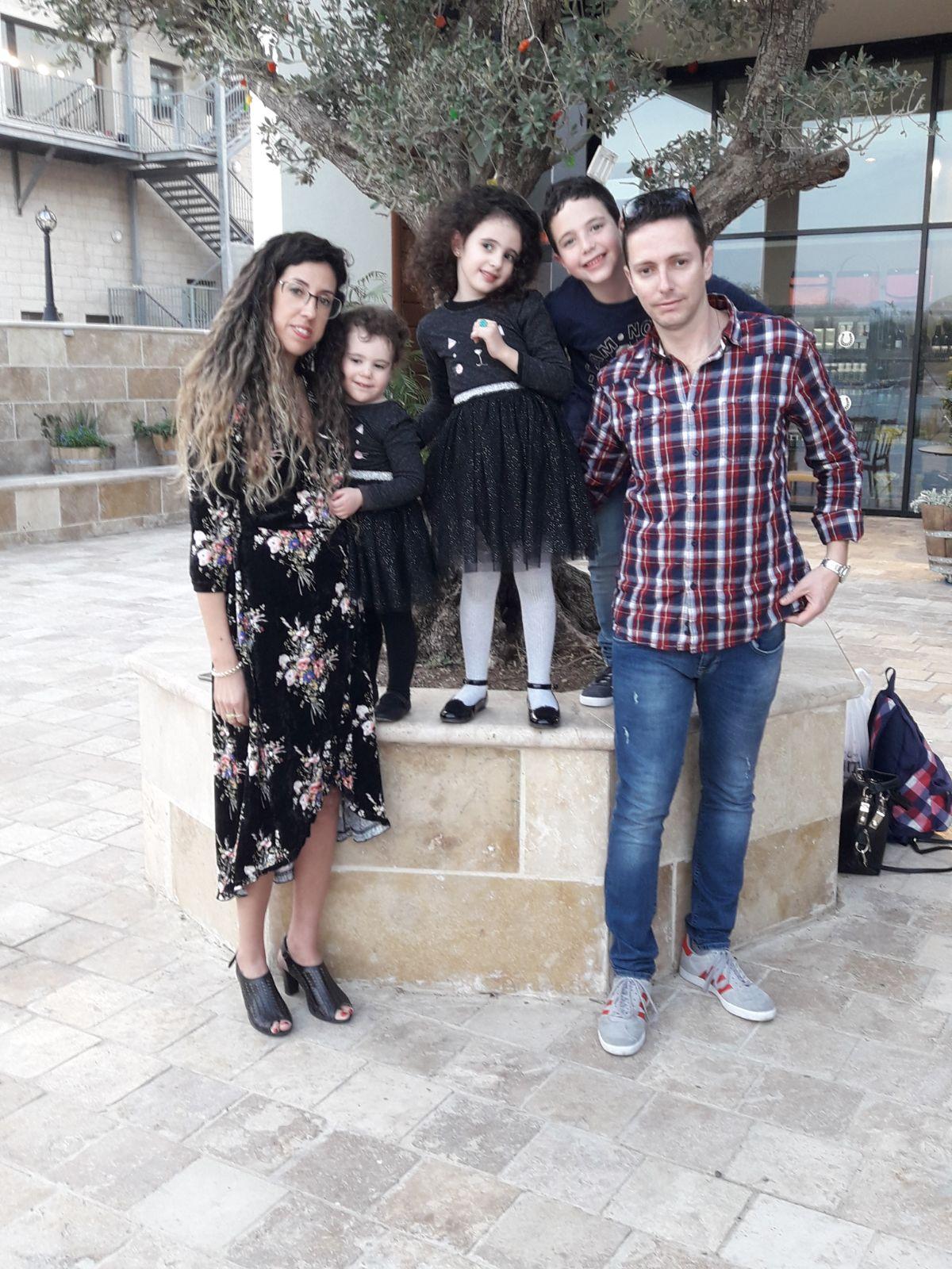 משפחת פוטישמן (צילום ארטור פוטישמן)