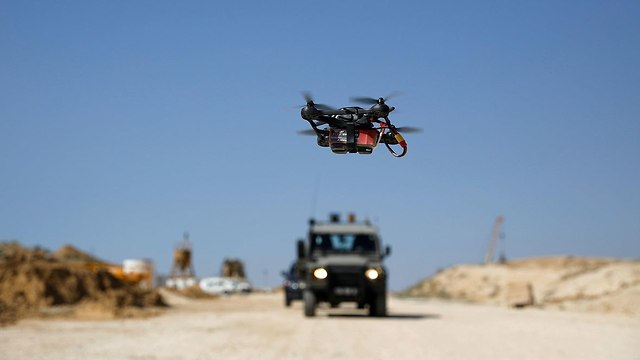 IDF drone (Photo: Reuters)