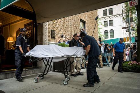 מותה של ספייד נקבע בזירה ומכתב התאבדות נמצא לצד הגופה (צילום: Drew Angerer/GettyimagesIL)