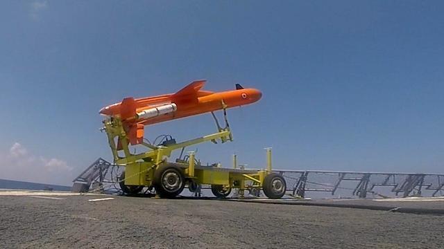 אימון חיל הים  בהובלת שייטת ספינות הטילים (צילום: דובר צה