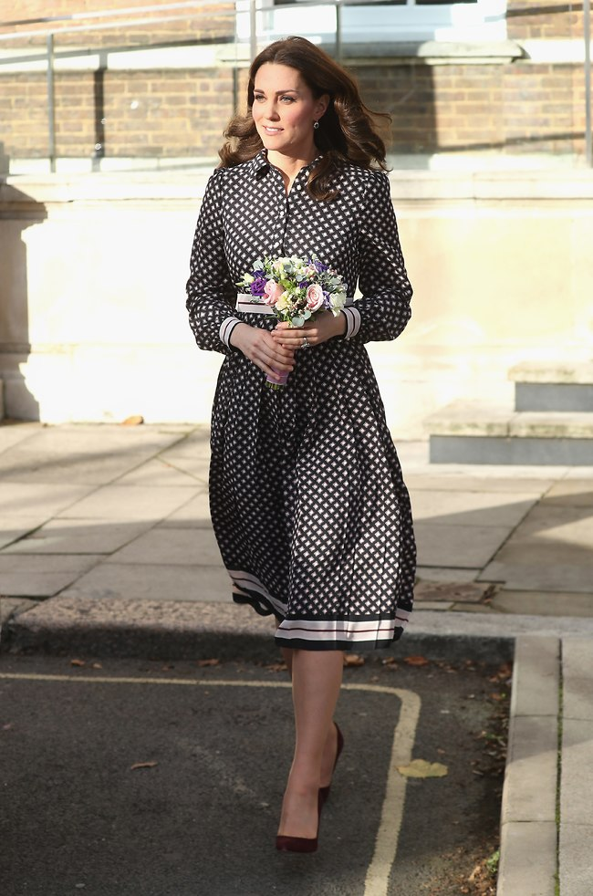 עוד הופעה פומבית של הדוכסית בשמלה של ספייד (צילום: gettyimages)
