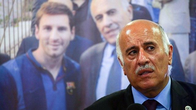 Jibril Rajoub (Photo: Ohad Zwigenberg)