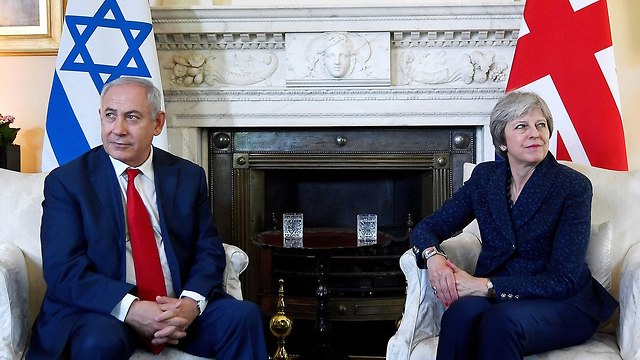 Netanyahu and May meet in London (Photo: GettyImages)