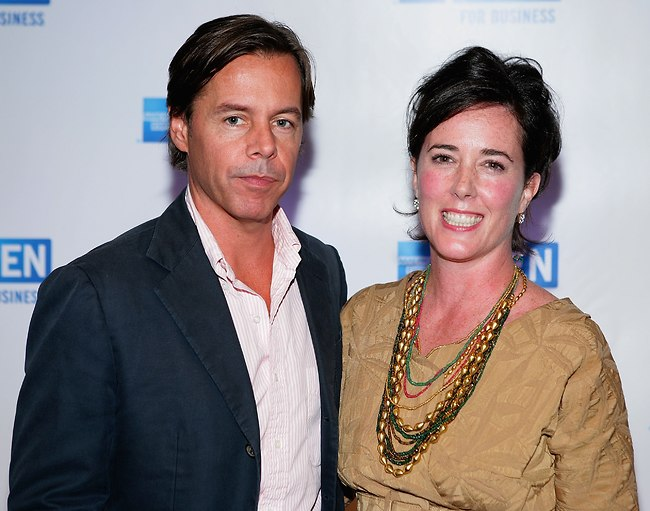 קייט ספייד ובעלה בנפרד אנדי ספייד (צילום: Gettyimages)