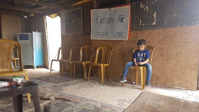 Khan al-Ahmar (Photo: Amit Gilutz, B'Tselem)