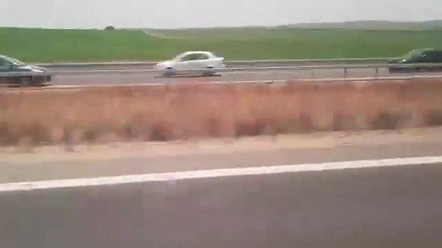 נסיעה נגד כיון התנועה בכביש 6 (צילום: אור ירוק)