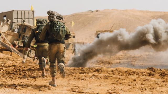 Ground Forces training exercise (Photo: IDF Spokesman's Unit)