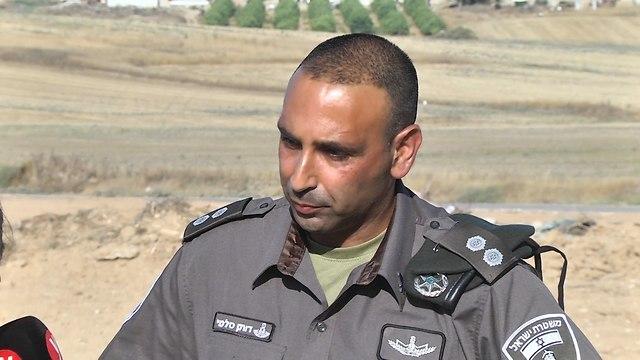דותן סלמי – מפקד היחידה (צילום: רועי עידן)