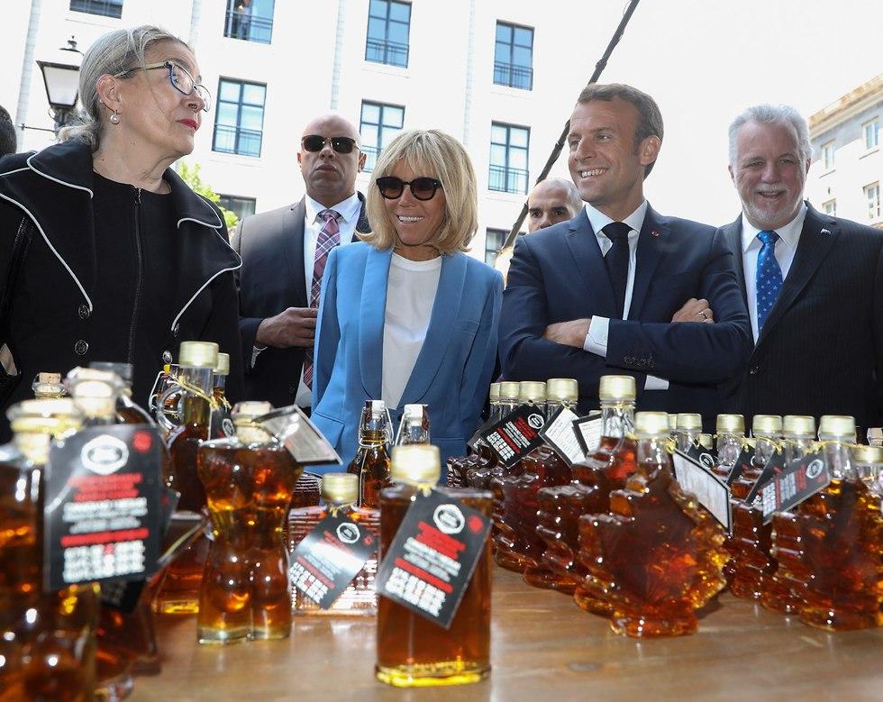 לקראת פסגת G7 (צילום: EPA)