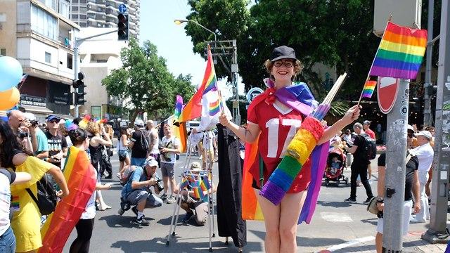 מצעד הגאווה 2018 (צילום: שאול גולן)