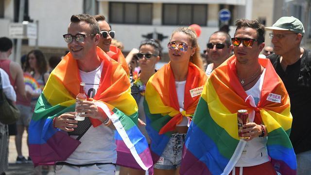 מצעד הגאווה 2018 (צילום: יאיר שגיא)