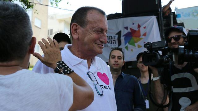 Tel Aviv Mayor Ron Huldai  (Photo: Motti Kimchi)