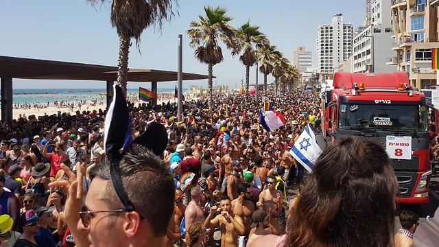מצעד הגאווה 2018 (צילום: אסף קמר)