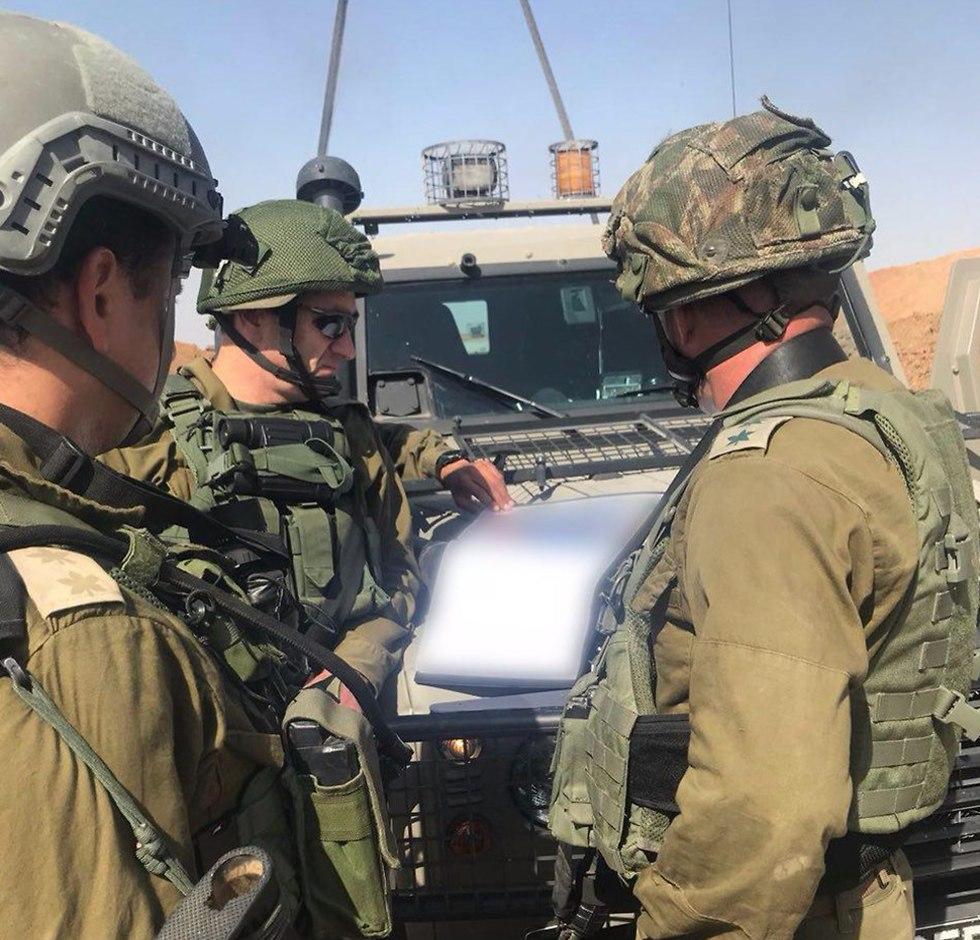 Командование Южного военного округа. Фото: пресс-служба ЦАХАЛа