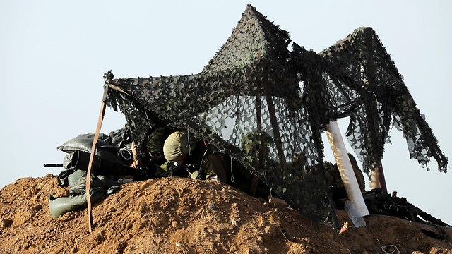 IDF snipers on the Gaza border (Photo: Reuters)