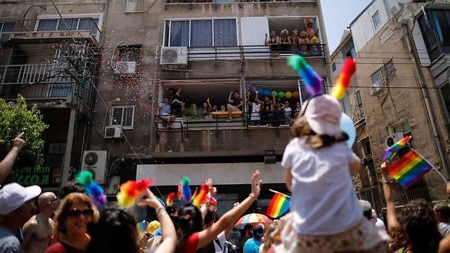 Tel Aviv Pride Parade (Photo: Reuters)