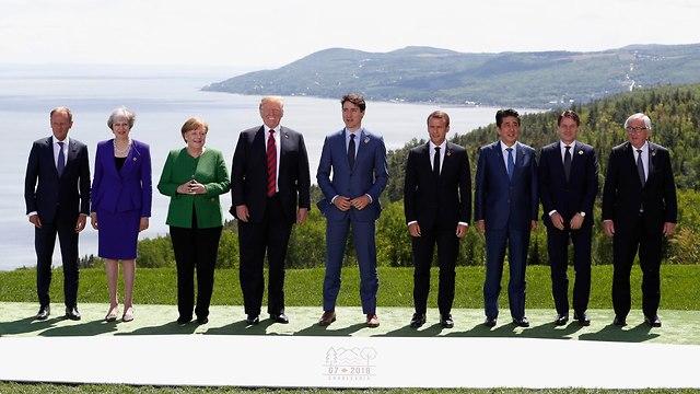 ועידת G7 (צילום: רויטרס)