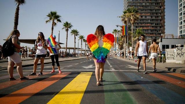 מצעד הגאווה 2018 (צילום: רויטרס)