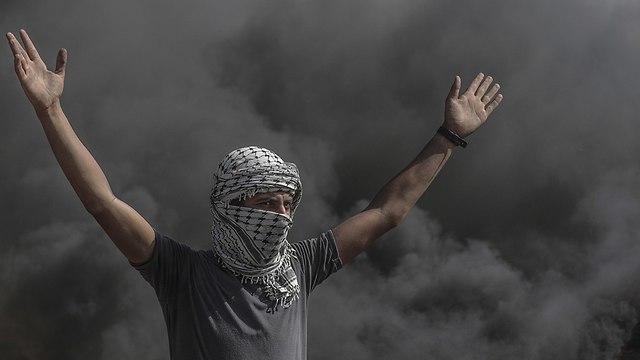 Gaza border riots  (Photo: EPA)