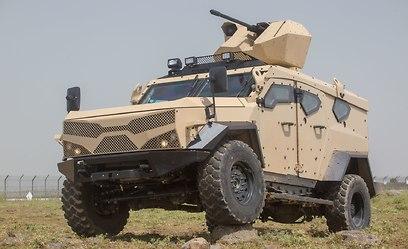 Бронеавтомобиль SandCat M-LPV. Фото: Ронен Топельберг