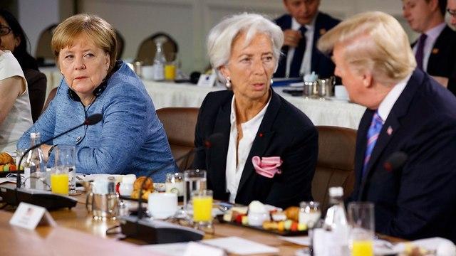 דונלד טראמפ ועידת G7 קנדה ארה