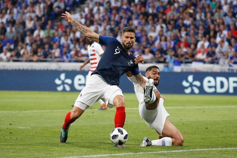 Франция против США. Фото: ЕРА