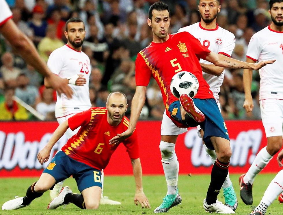 Испания - Тунис. Фото: ЕРА