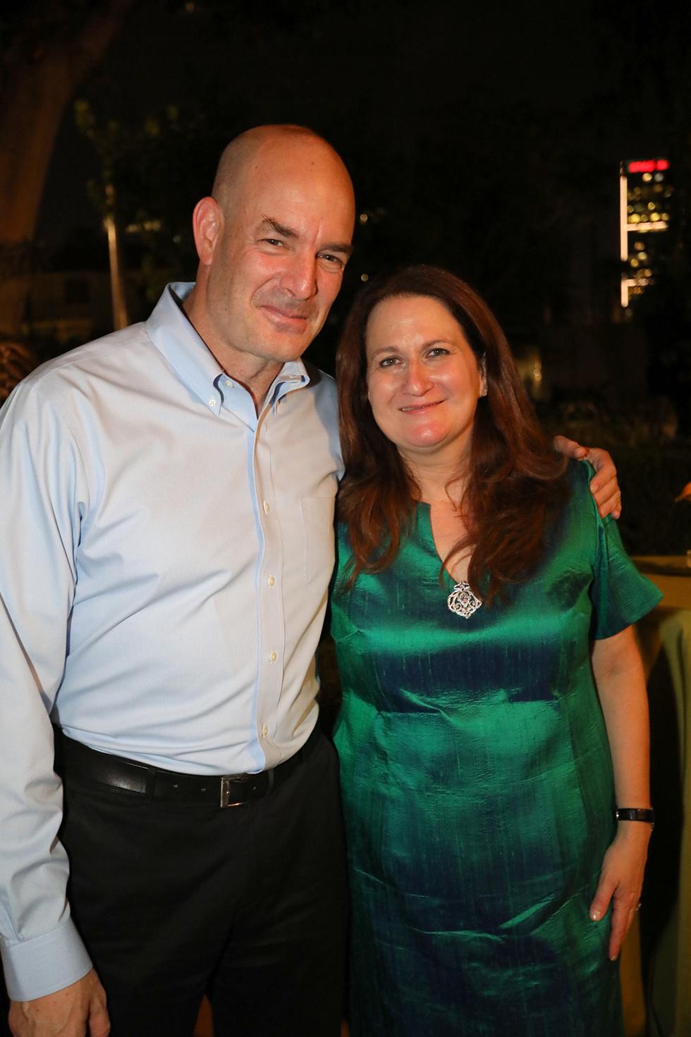 רכילות עסקית דנה עזריאלי ואייל חנקין (צילום: סיון פרג')