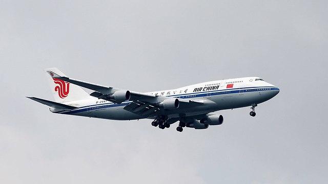 מטוס שאולי נושא את שליט צפון קוריאה קים ג'ונג און נוחת ב סינגפור לקראת פגישה עם דונלד טראמפ (צילום: רויטרס)