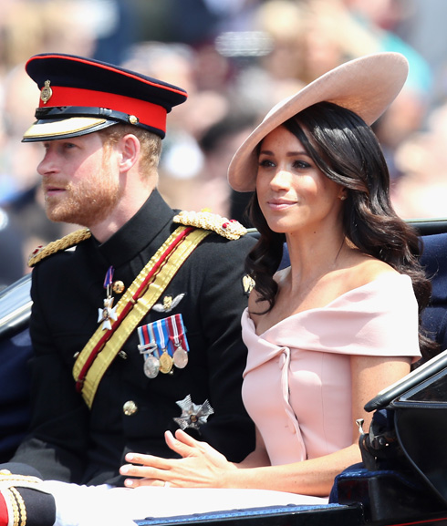 זוג טרי ואופנתי. מייגן מרקל והנסיך הארי (צילום: Chris Jackson/GettyimagesIL)