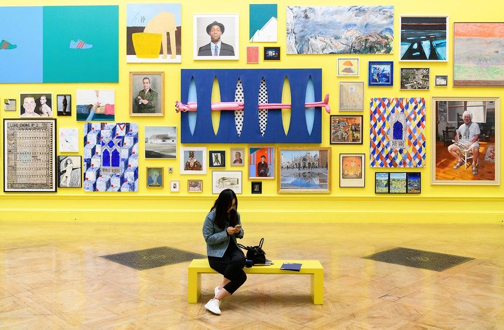 תערוכת royal acadrmy (צילום: Getty Images, Leon Neal)