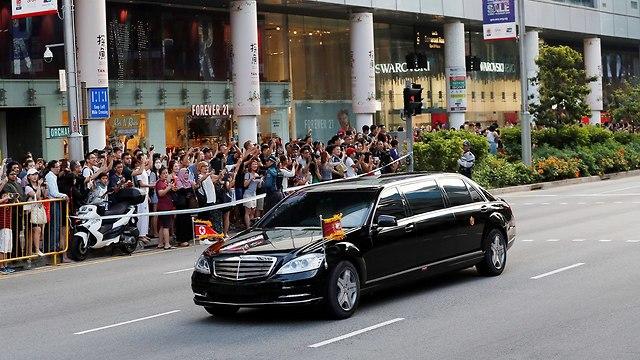 הרכב בסינגפור (צילום: רויטרס)