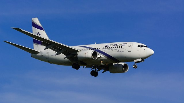 מטוס אל על (צילום: shutterstock)