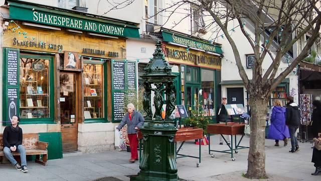 חנות ספרים שייקספיר אנד קומפני  (מתוך עמוד הפייסבוק של Shakespeare and Company)