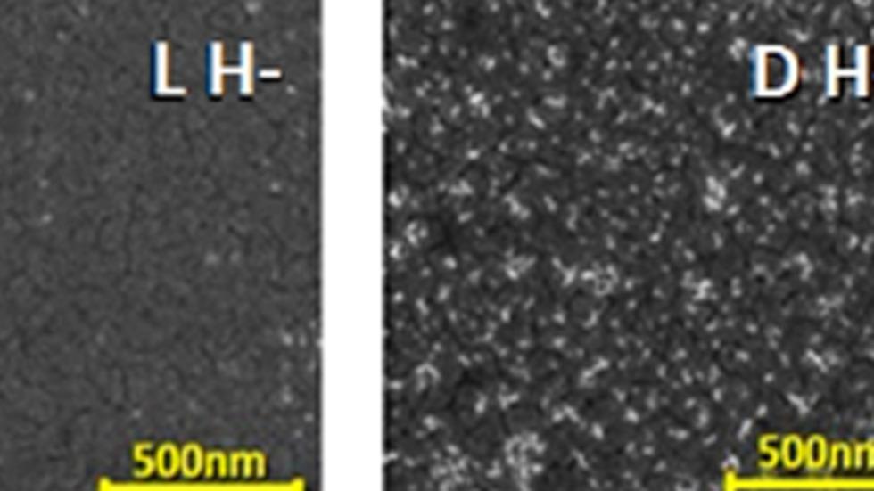 משטח מגנטי המושך מולקולות