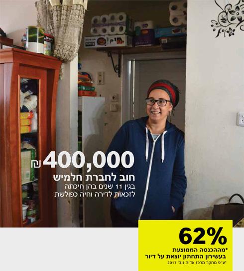 ליאת יונה (39), משפחה של 9 נפשות בשכונת התקווה. מדימונה ועד תל אביב, דיירי הדיור הציבורי נחשפים (צילום: חיים זילברשטיין)