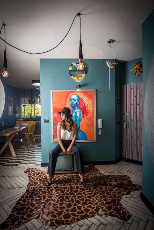 מבואה כחולה (צילום: שחר שדרין - SHEDRIN STUDIO)