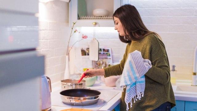 מגבת מטבח (צילום: shutterstock)