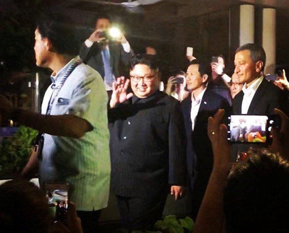 שליט צפון קוריאה קים ג'ונג און (צילום: רויטרס)