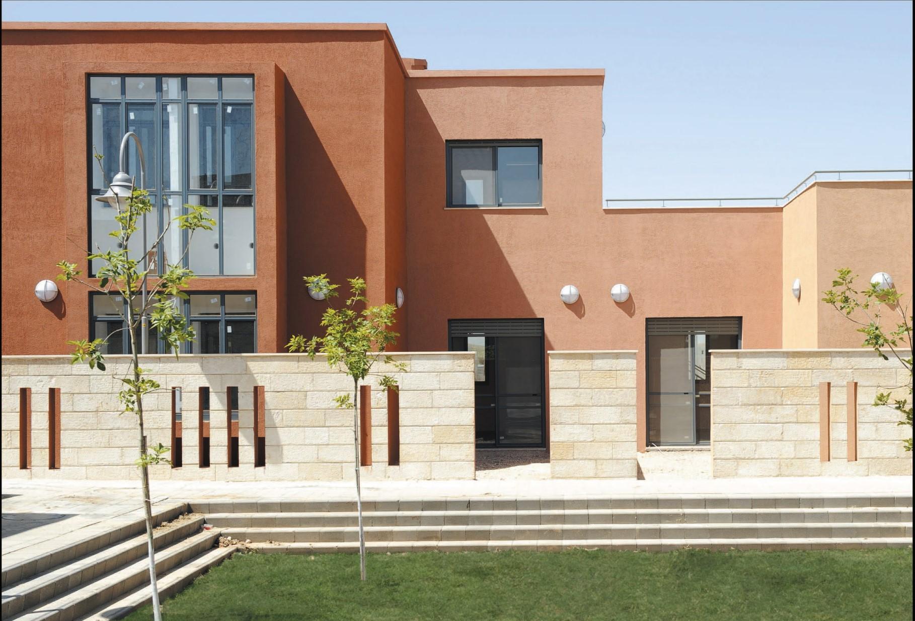 (צילום: עודד סמדר, באדיבות ליננברג רוזן אדריכלים. מעונות הסטודנטים  אוניברסיטת בן-גוריון בנגב )
