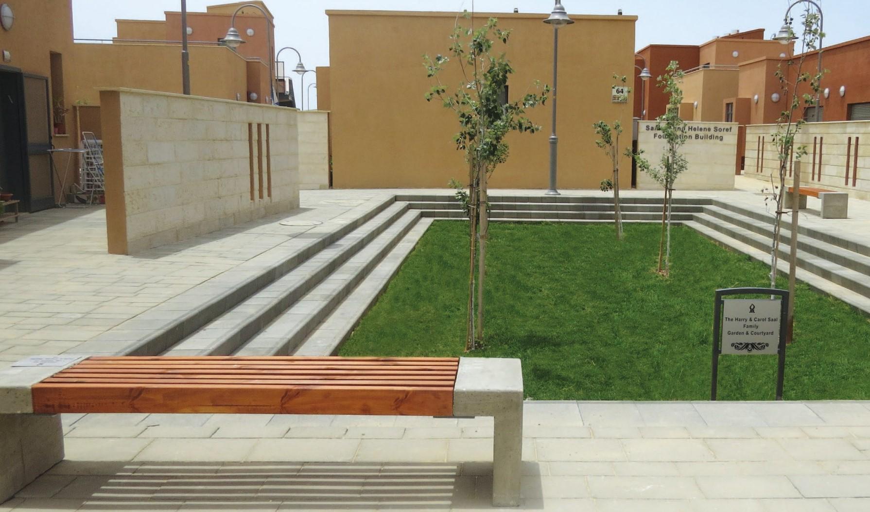 (צילום: עודד סמדר, באדיבות ליננברג רוזן אדריכלים. מעונות הסטודנטים  אוניברסיטת בן-גוריון בנגב)
