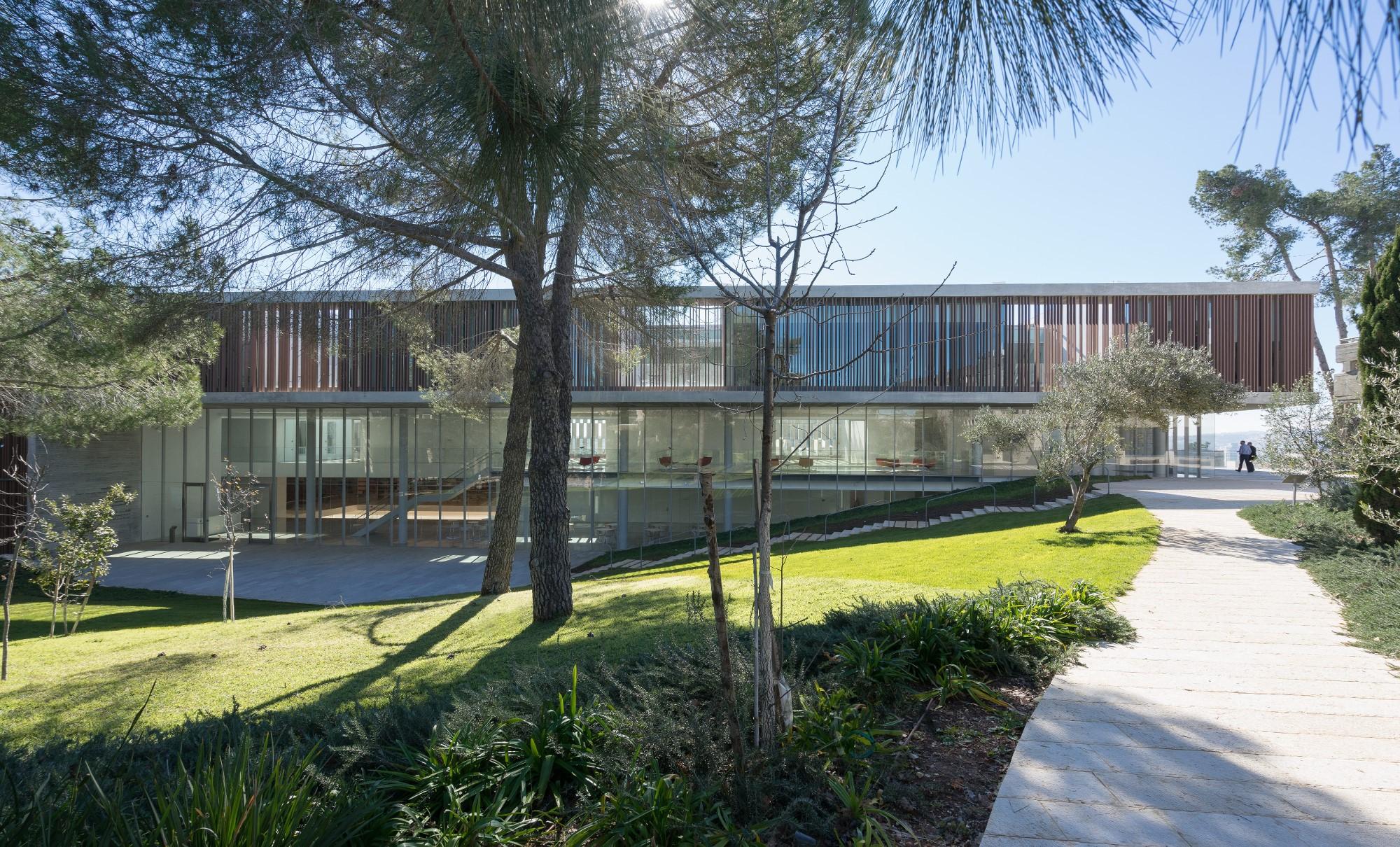 (צילום: ארדון בר-חמא, באדיבות חיוטין אדריכלים, קמפוס ואן-ליר בירושלים)